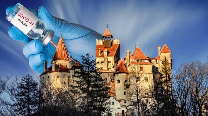 Doit-on en rire ou en pleurer ? Le château de Dracula en Transylvanie offrira des doses de Pfizer contre la Covid-19 à tous lestouristes