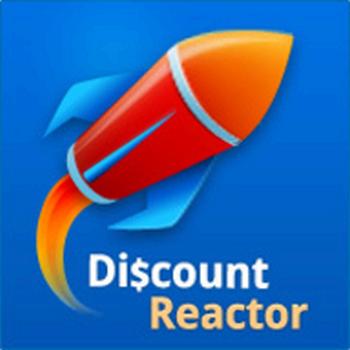 DiscountReactor, logo