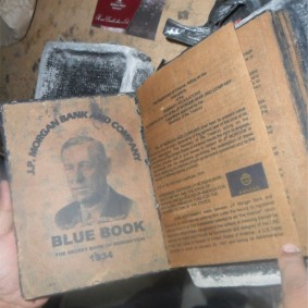J.P. Morgan Bank and Company - Blue Book; The Secret Book of Redemption (1934)
