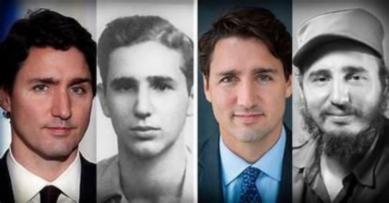 Justin Trudeau et Fidel Castro - 02