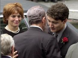 Justin Trudeau et Fidel Castro - 03