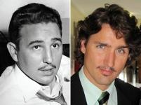 Justin Trudeau et Fidel Castro - 05