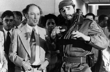 Trudeau, Castro