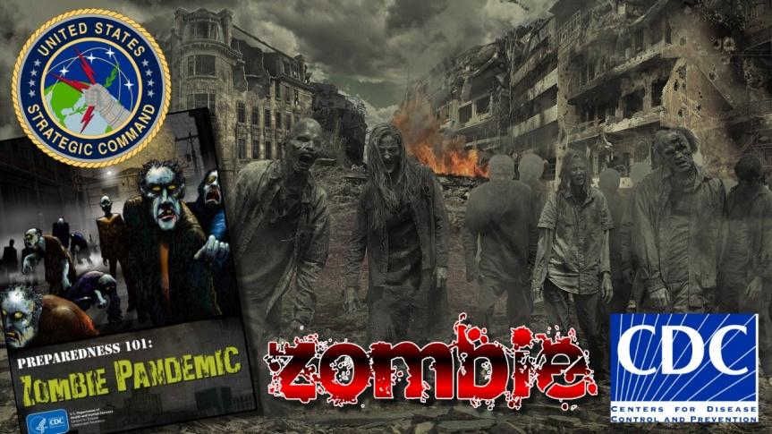 ZOMBIE APOCALYPSE — L'armée américaine et le CDC ont préparé un plan et une stratégie pour contrer une éventuelle invasion dezombies