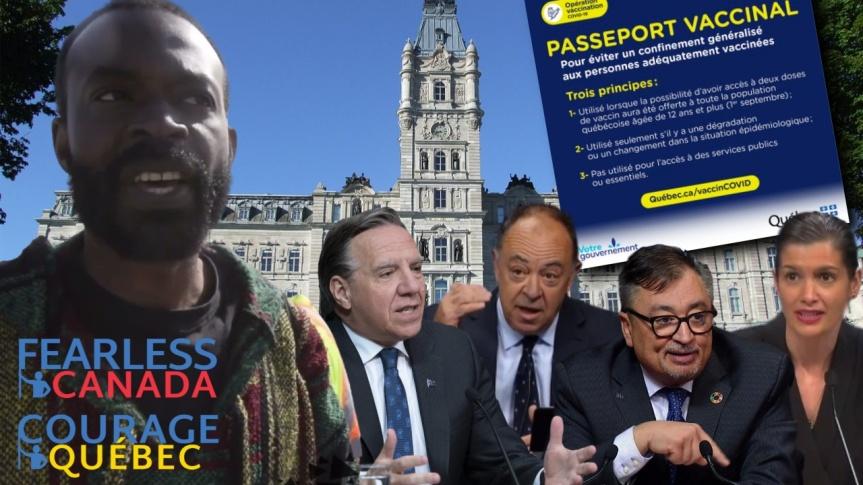 Le Guerrier Pacifique, François Amalega, préfère mourir que de se soumettre à un gouvernement tyrannique qui émet des décretsliberticides