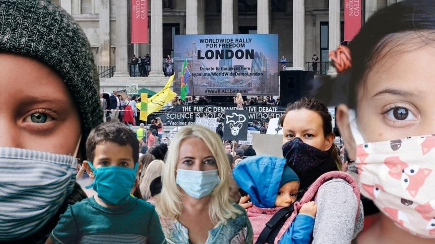 Un lecteur britannique s'exprime suite à la manifestation : « Jour de la liberté ou non, les Britanniques préfèrent la servitude infantile»