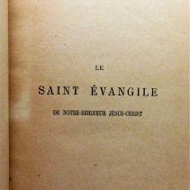 Le Saint Évangile de Notre-Seigneur Jésus-Christ, ou les Quatre Évangiles en un seul - 08