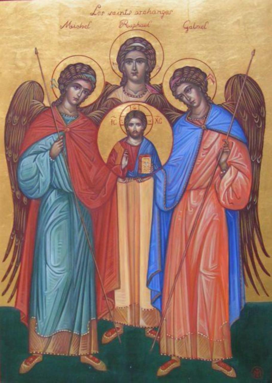 Archanges - Gabriel, Raphaël et Michel