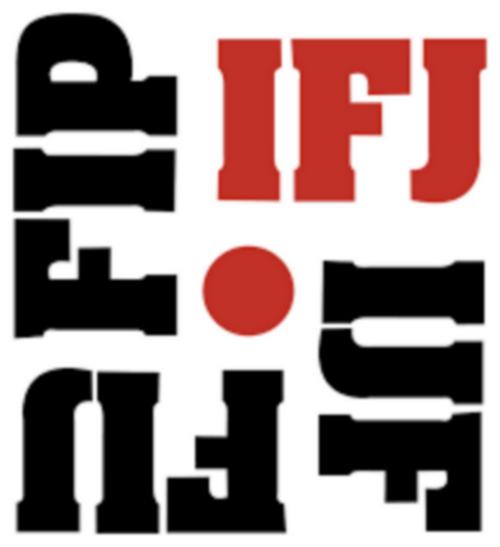 Fédération internationale des journalistes, logo 01