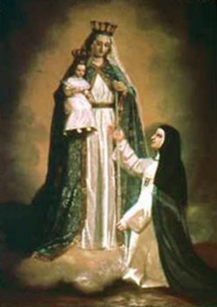 Image de la mesure de la Sainte Vierge