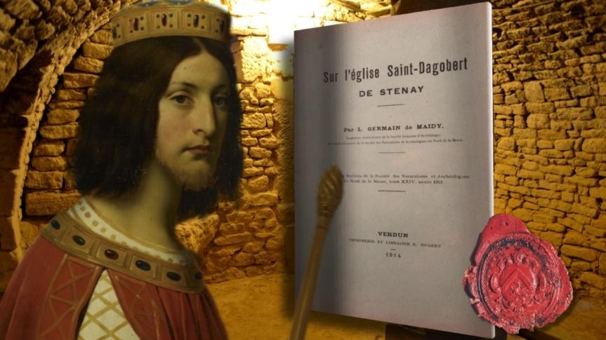 Guy Boulianne a fait l'acquisition d'un ouvrage rare de Léon Germain de Maidy (1853-1927), intitulé « Sur l'église Saint-Dagobert de Stenay»