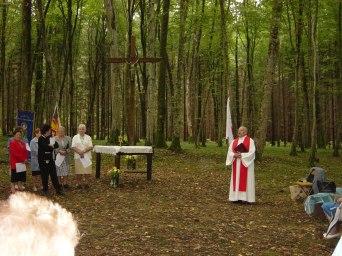 Un pèlerinage lié au saint roi, passant par la forêt jusqu'à la Fontaine Saint-Dagobert