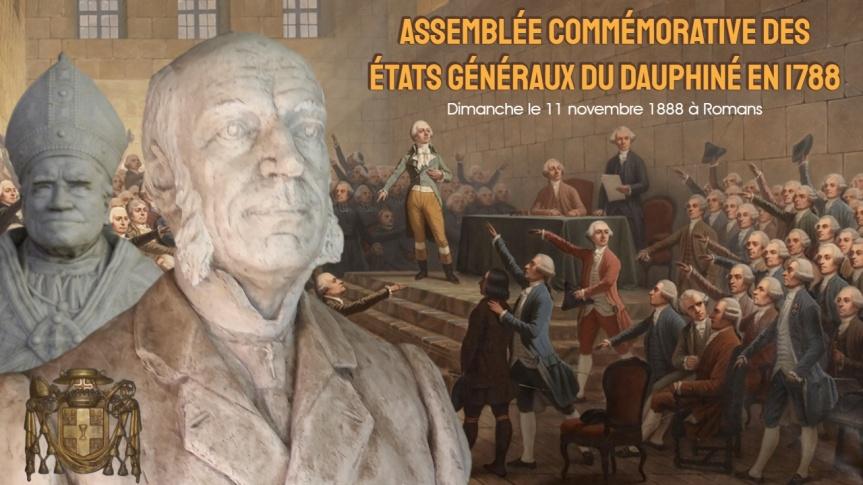 Le 11 novembre 1888, Paul Boyer de Bouillane participa à l'assemblée commémorative des états généraux du Dauphiné de1788