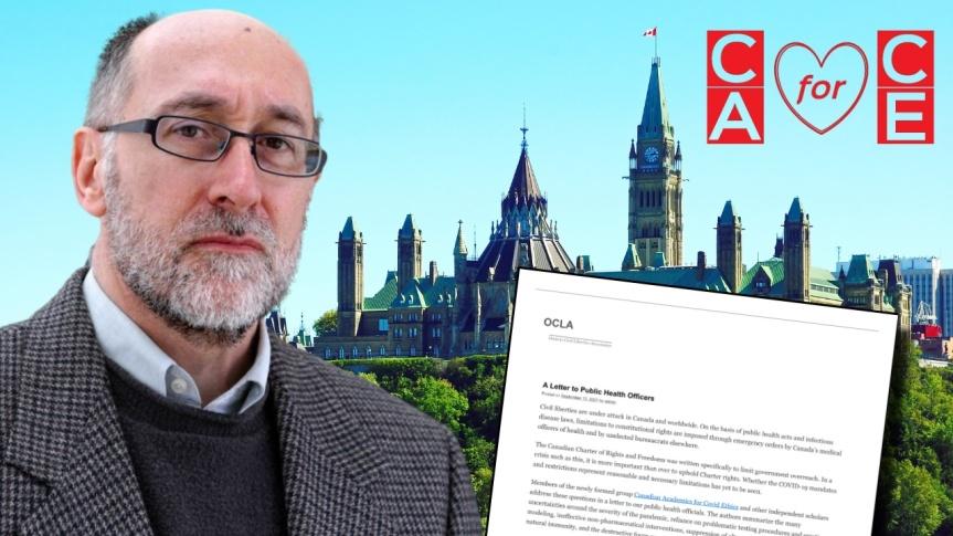 Le professeur Denis Rancourt et onze autres universitaires canadiens ont envoyé une lettre ouverte aux agents de santé publique dupays
