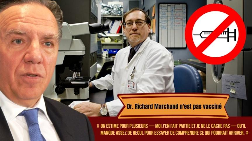 Lorsque le Dr. Richard Marchand avouait ne pas être vacciné. Le microbiologiste Stéphane Guay analyse son entrevue avec PaulArcand