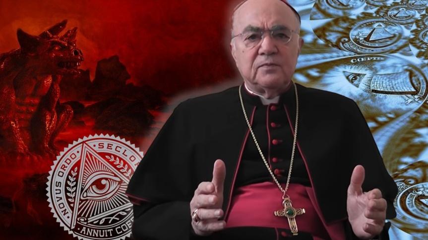 Considérations sur le Nouvel Ordre Mondial — Mgr Carlo Maria Viganò dit que Bergoglio est le liquidateur conscient de l'Églisecatholique