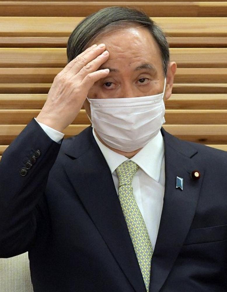 Yoshihide Suga démissionne