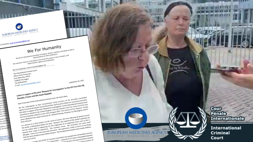"""Appel à la Cour Pénale Internationale : l'Agence européenne des médicaments fait une réponse arrogante à l'organisation """"We for Humanity"""" qui témoigne d'une intentioncriminelle"""