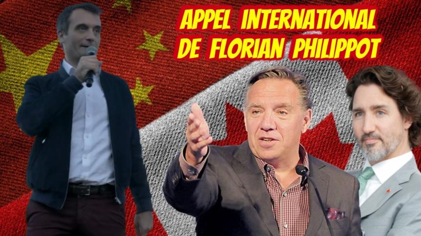 Le politicien français,Florian Philippot, lance un message aux Québécois : « Levez-vous, révoltez-vous, rebellez-vous, chassez ces gouvernants qui vous veulent le plus grand mal !»